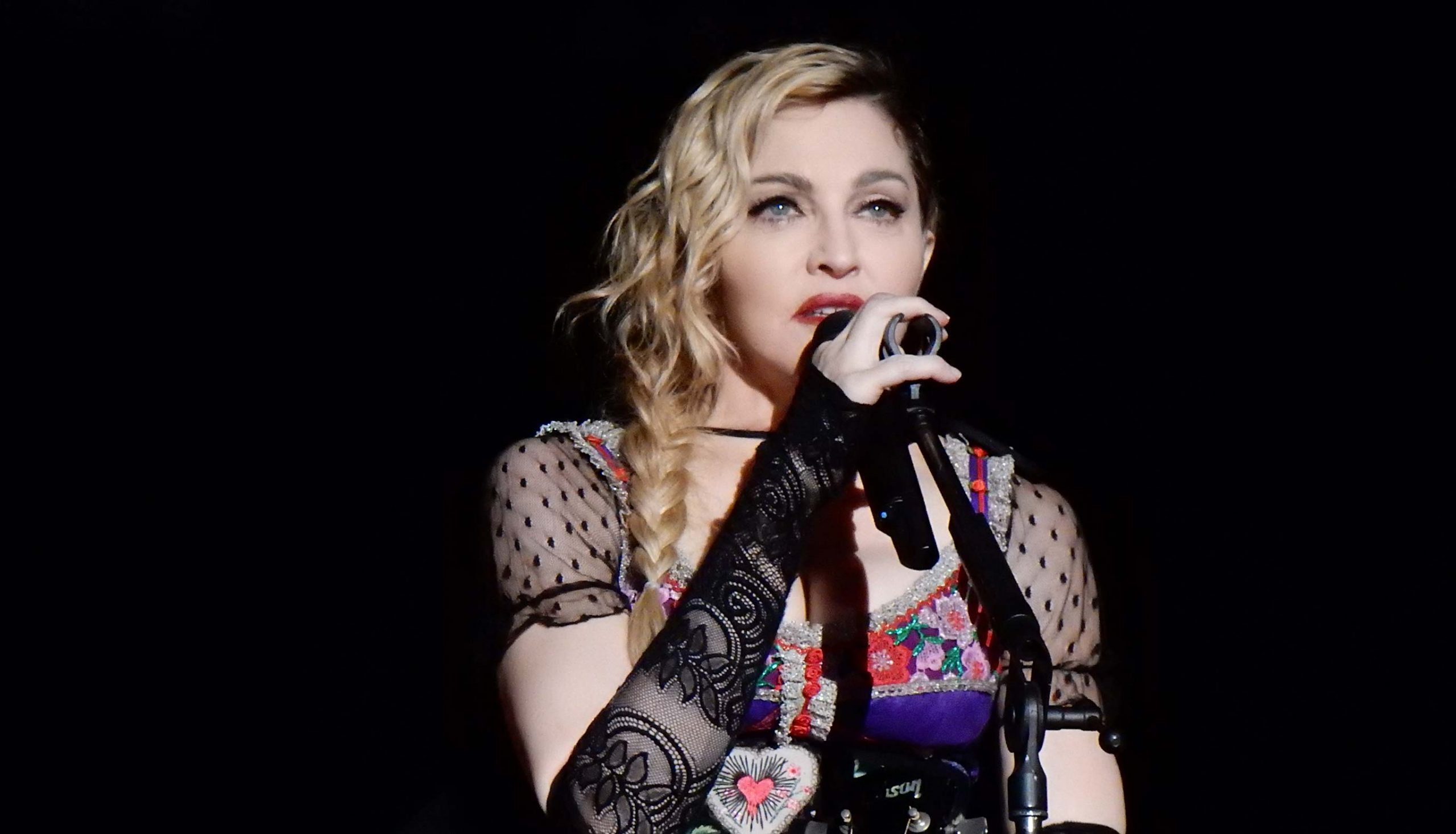 Madonna during Rebel Heart Tour 2015 in Stockholm, Sweden. Photo: chrisweger via Wikimedia Commons (CC BY-SA 2.0) (CC BY-SA 2.0)